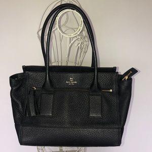 Kate Spade ♠️ Black/gold shoulder bag!